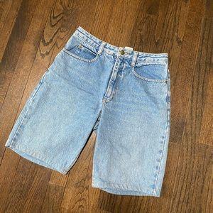 Vintage Denin mom shorts
